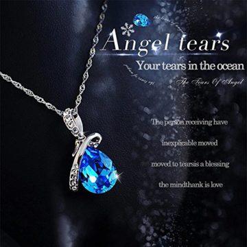 Kette Damen 925 Sterling Silber 3A Zirkonia Halskette exquisite Geschenk-Idee