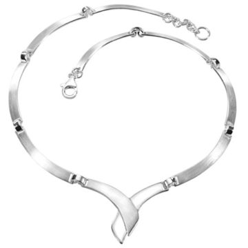 Vinani Damen-Halskette Collier Cross Fire Sterling Silber 925 Kette KCF